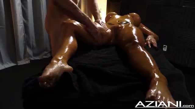 Aziani aubrey black milf massage